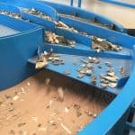 Sandflo™ fluidised-bed separator uses sand motion to separate materials by their density. Manufactured by Blaker Specialist Welding Repairs Ltd.